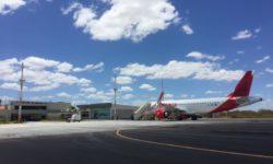 Pátio do Aeroporto de Juazeiro do Norte