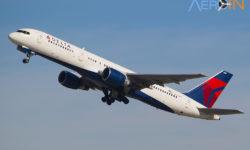 Avião Boeing 757-200 Delta