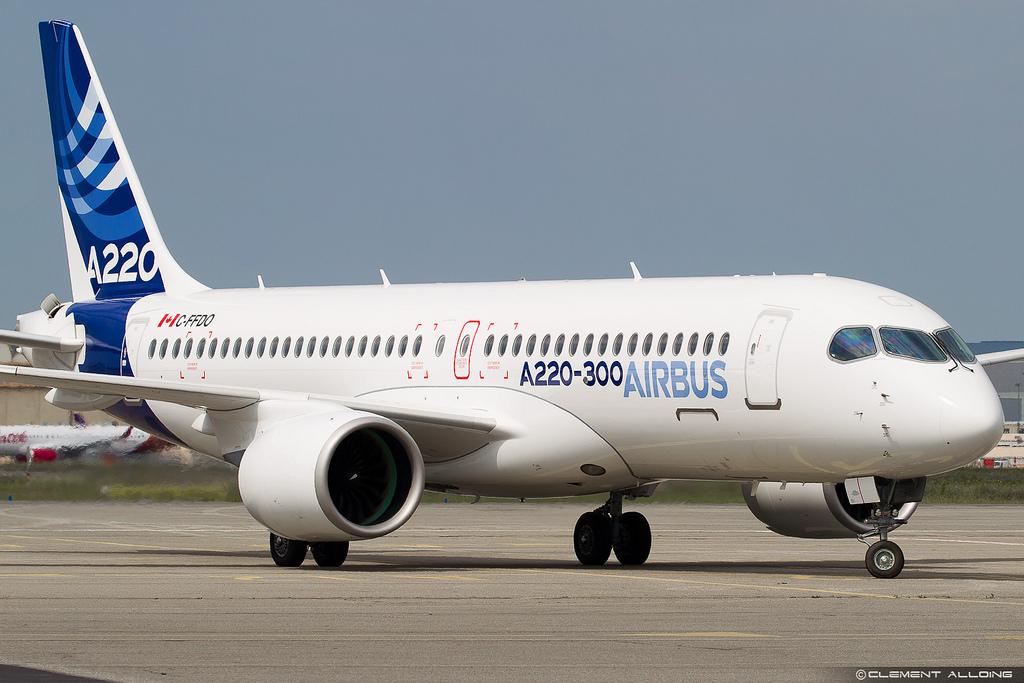 Avião Airbus A220