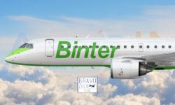 Avião Embraer E195-E2 Binter