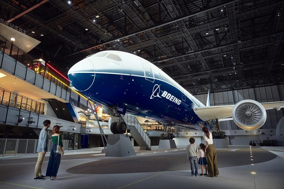 Avião Boeing 787 Dreamliner Nagoya