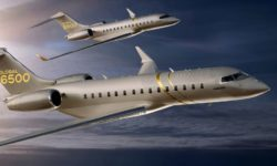 Avião Bombardier Global 5500 6500
