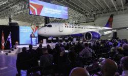 Avião Airbus A220-100 Delta Air Lines