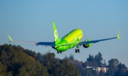 Avião Boeing 737 MAX 8 S7 Airlines