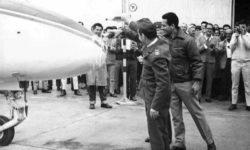 Avião Embraero 110 Bandeirante Batismo 1968