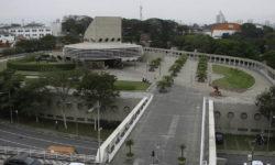 Edifício garagem aeroporto Congonhas Infraero
