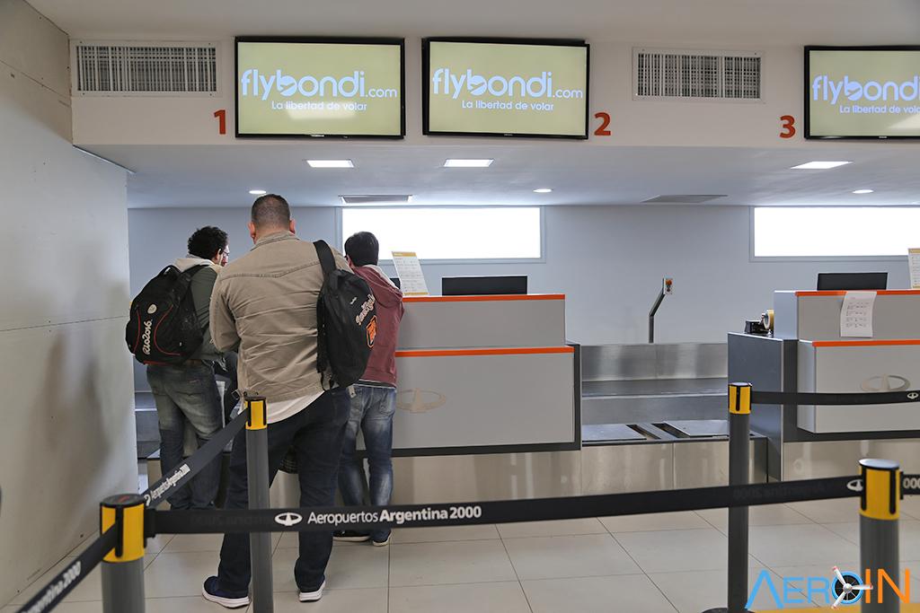 Aeroporto El Palomar Terminal Check-in