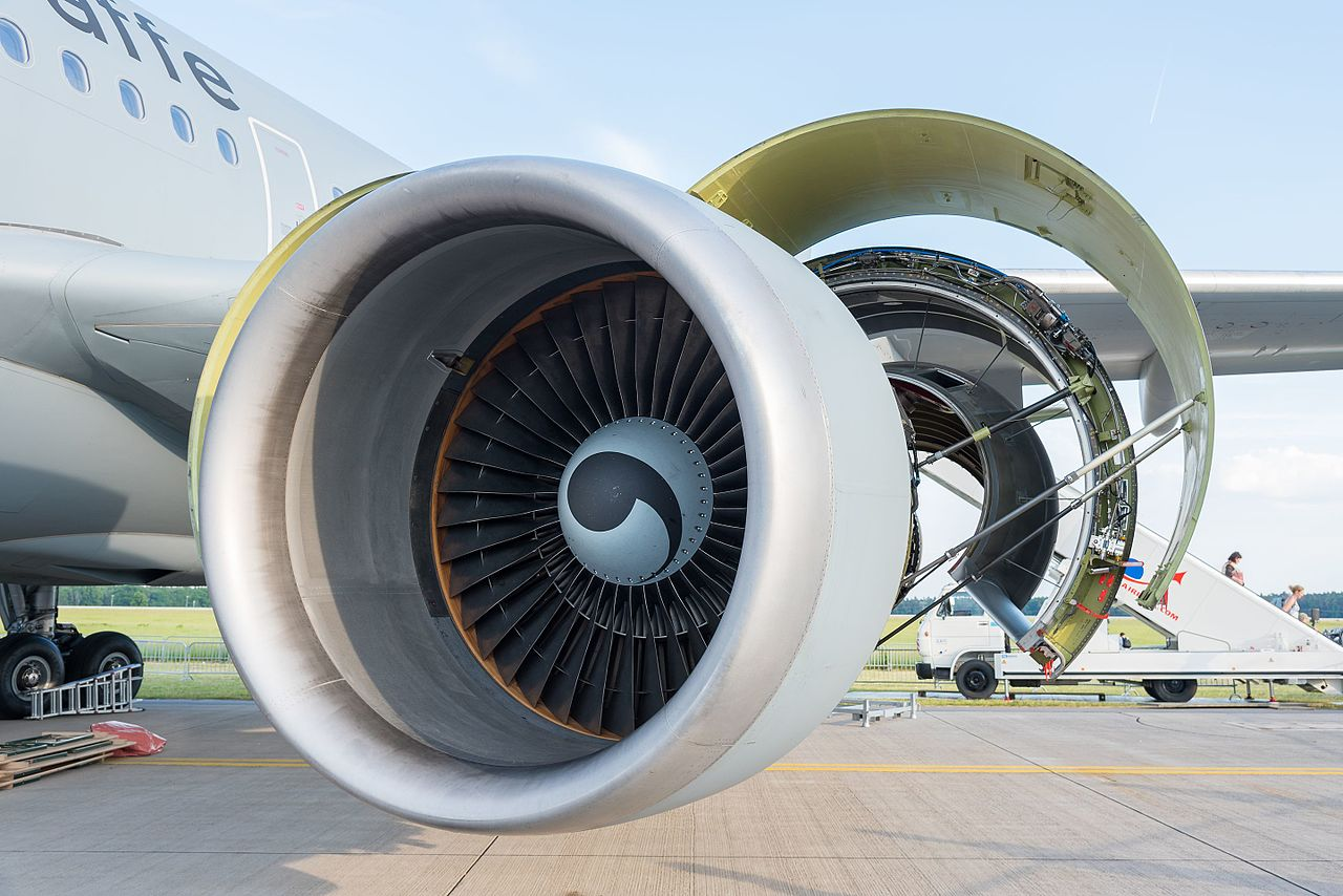 Avião Motor General Electric GE CF6-80C2