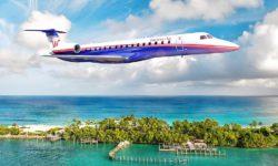 Avião ERJ-145 Western Air Bahamas