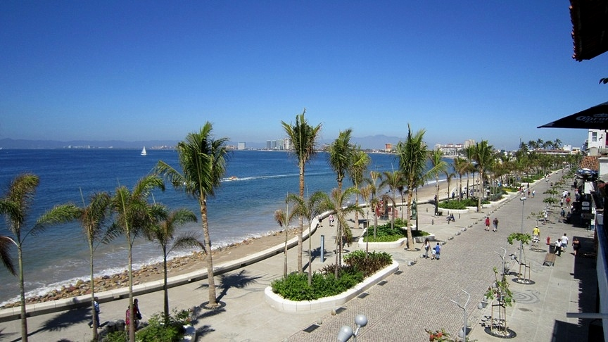 Puerto Vallarta Malecon Mexico