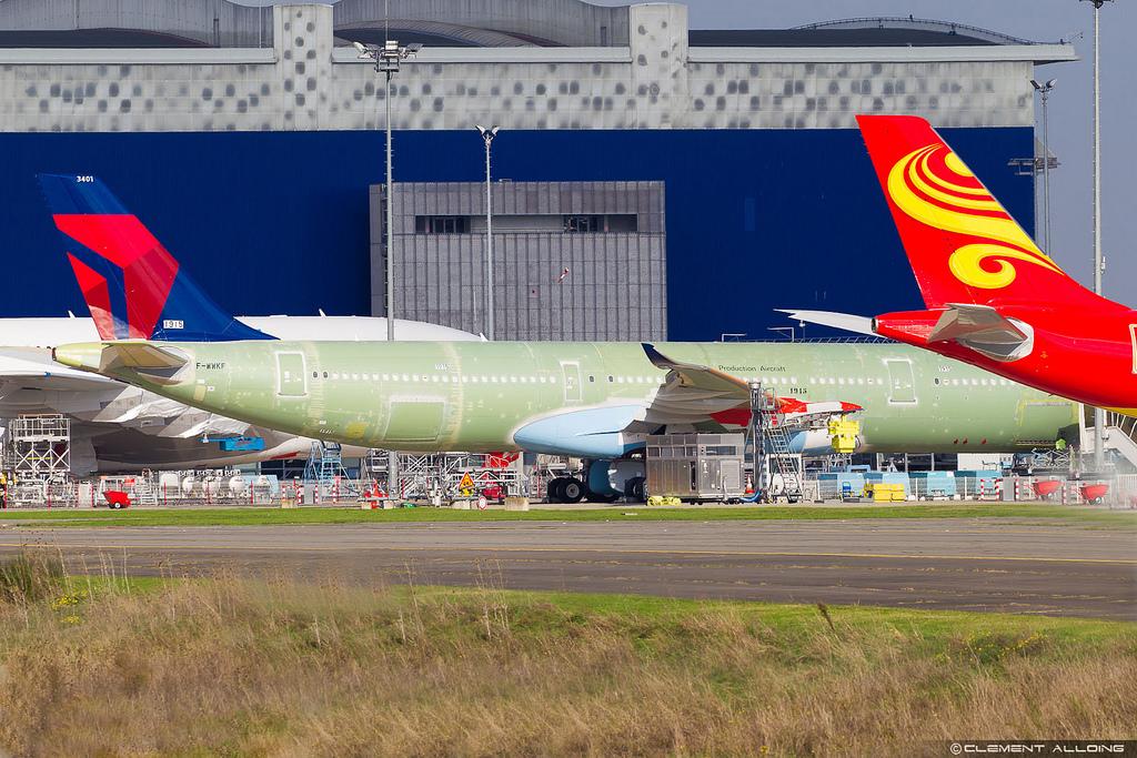 Avião Airbus A330neo Delta