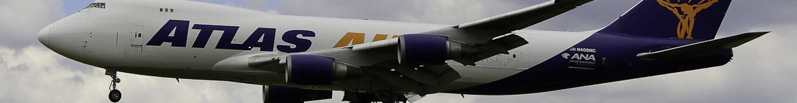 Avião Boeing 747-400F Jumbo