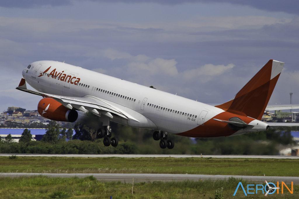 Avião A330-200 Avianca Leilão Bank of Utah