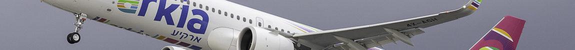 Avião Airbus A321LR A321neo Arkia