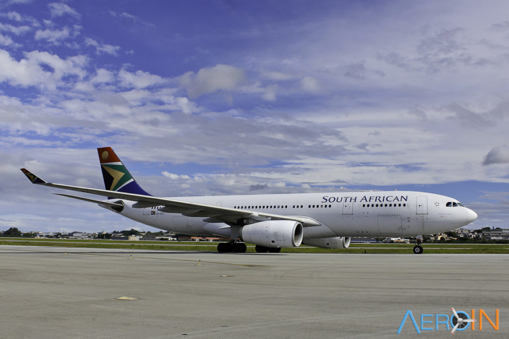 Avião Airbus A330-200 South African