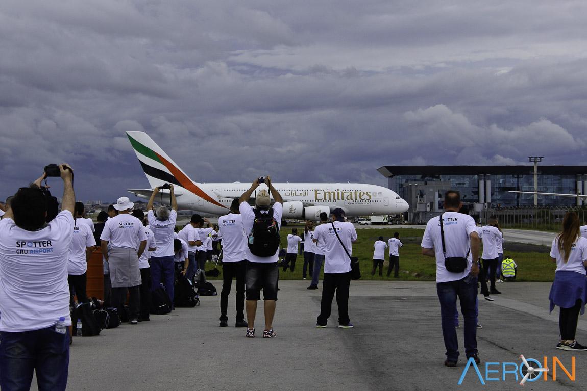 Spotter Day GRU Airport Fotografia Aviação