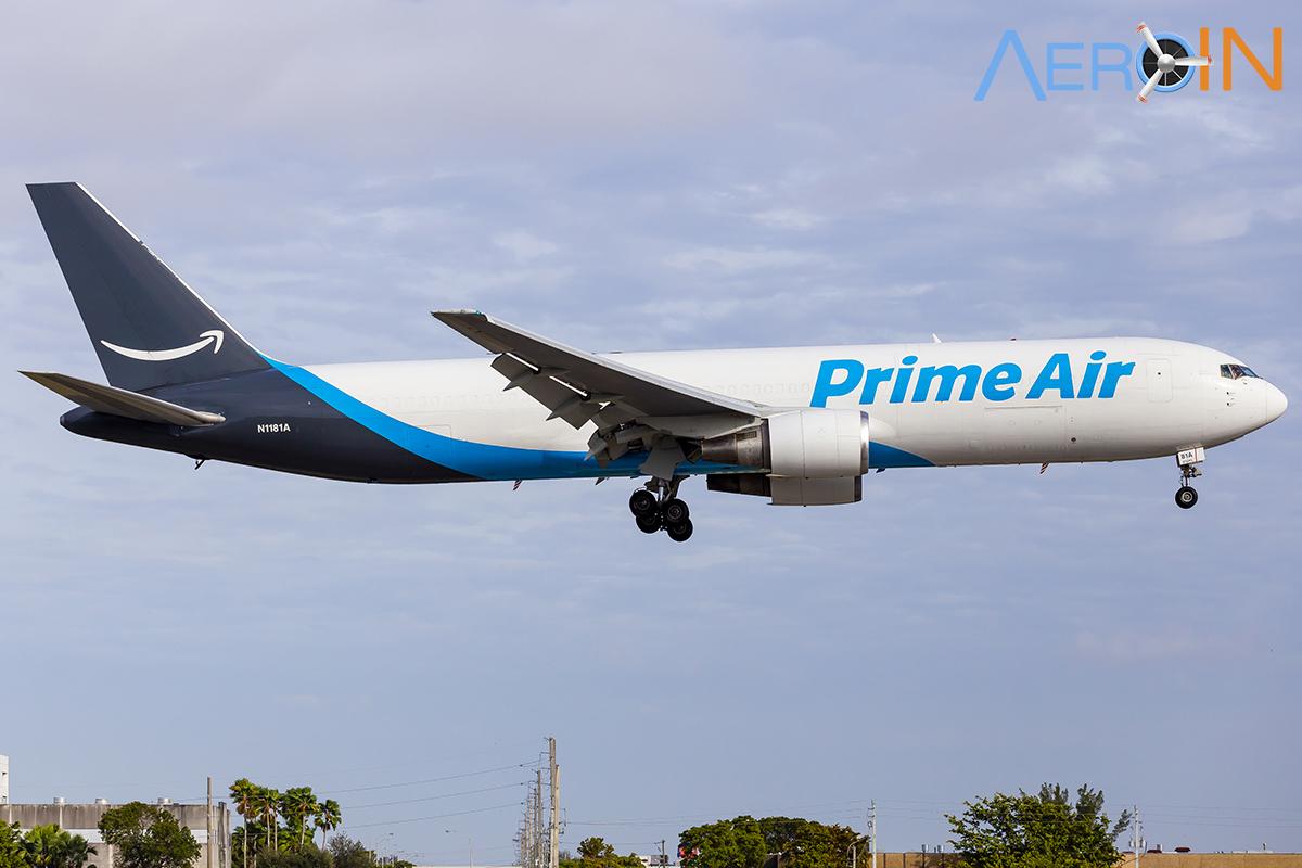 Avião Boeing 767-300F Amazon Atlas