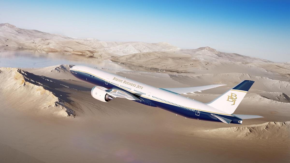 Avião Boeing 777X BBJ