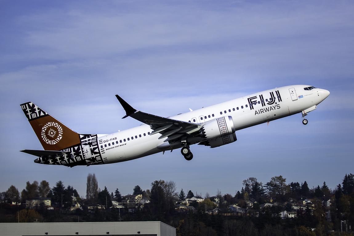Avião Boeing 737 MAX 8 Fiji Airways