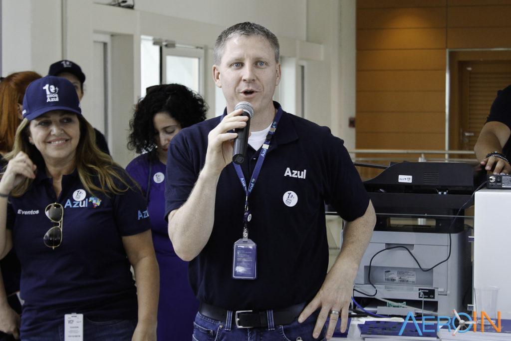 John Rodgerson CEO Azul Linhas Aéreas