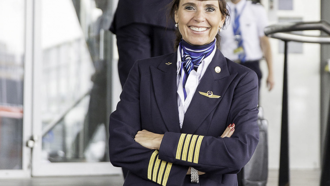 Marlies Beek comandante KLM