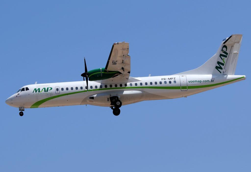 Avião ATR 72-500 MAP