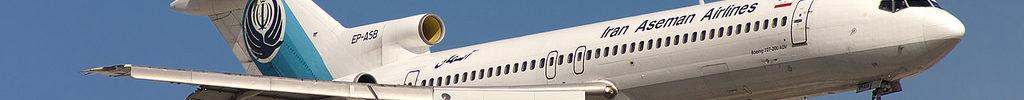 Avião Boeing 727-200 Aseman Airlines Last Flight