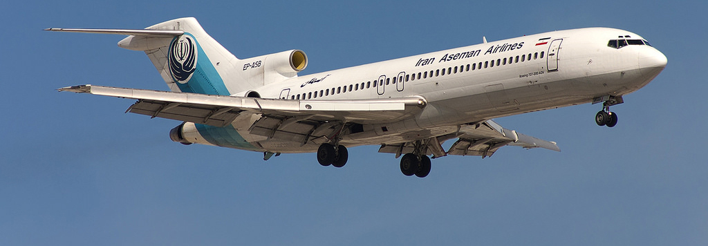 Boeing 727 realiza último voo regular de passageiros
