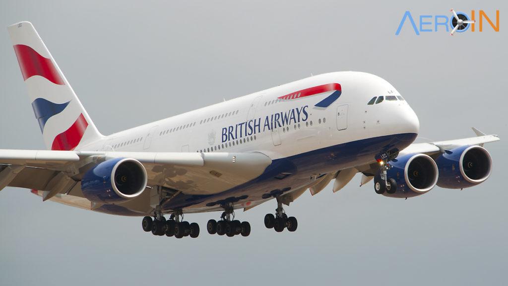 A380 BA British