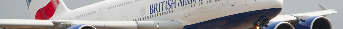 Avião Airbus A380 British Airways