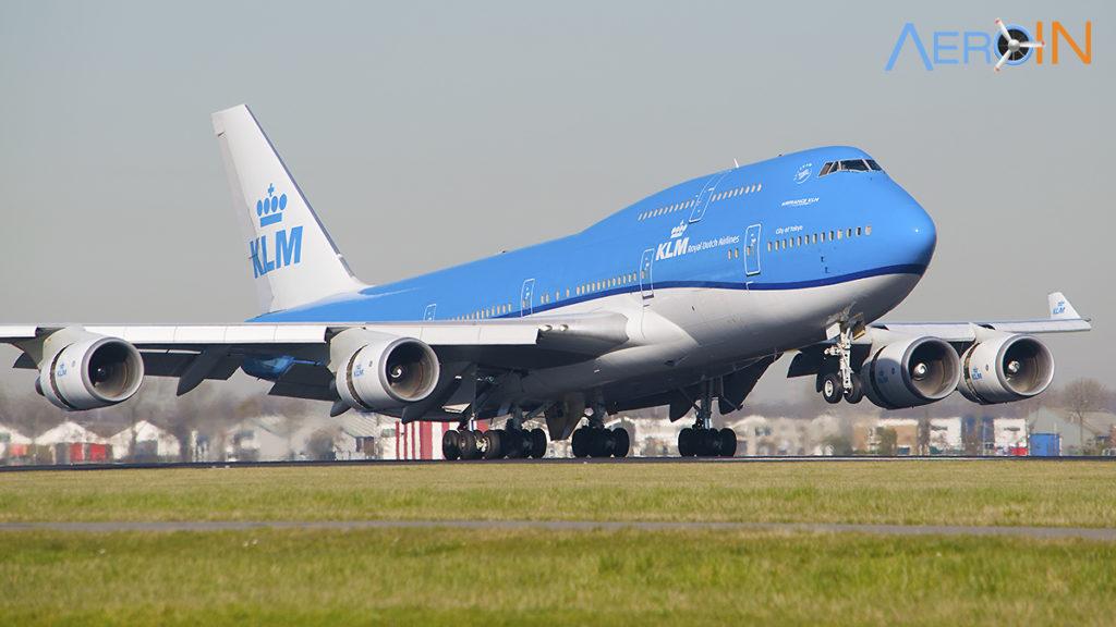 Avião Boeing 747 KLM