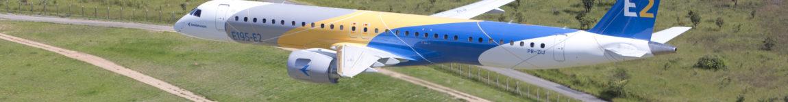 Avião Embraer E195 E2