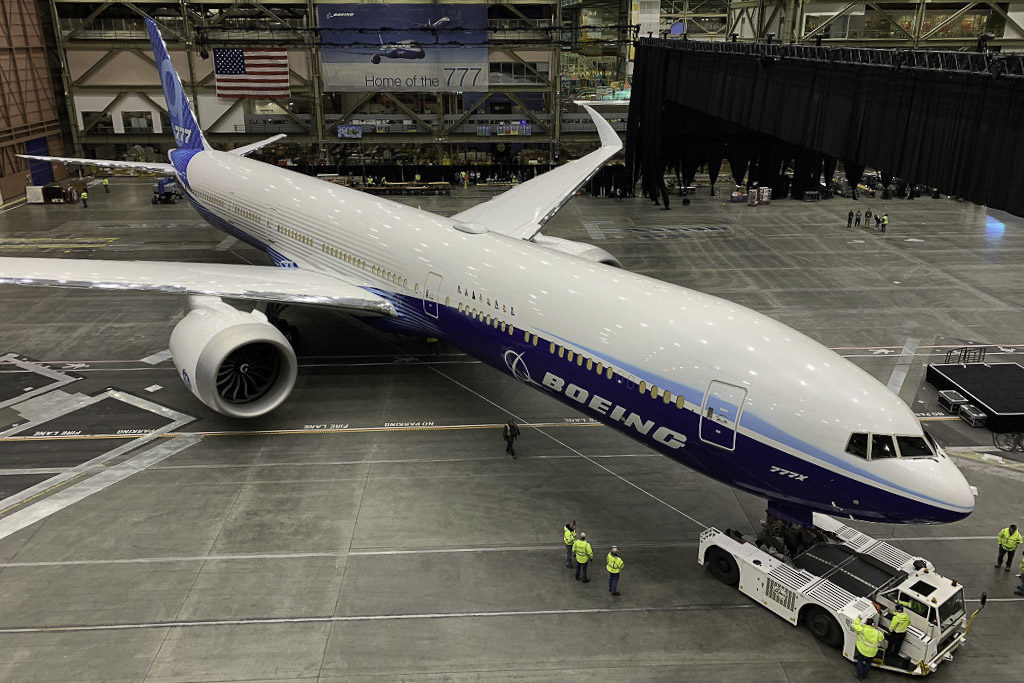 Boeing 777X First Airplane