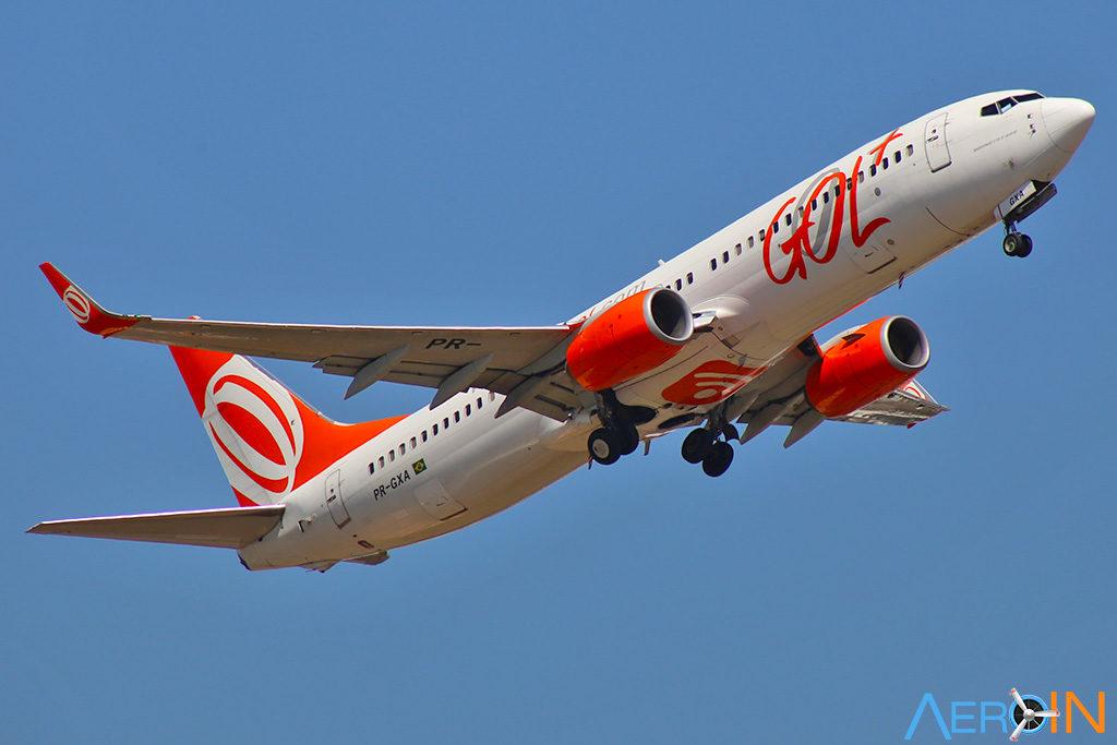Avião Boeing 737 NG Gol