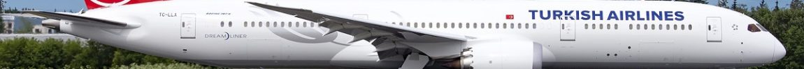 Avião Boeing 787-9 Turkish Airlines