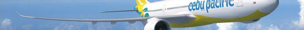 Avião Airbus A330neo A330-900 Cebu Pacific