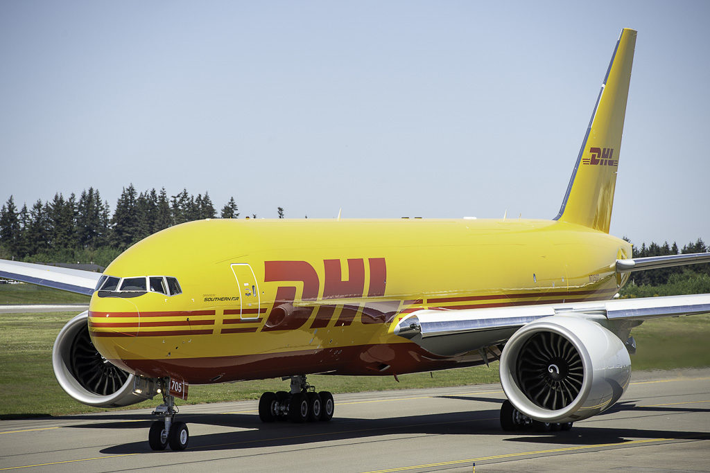 Boeing 777F DHL First