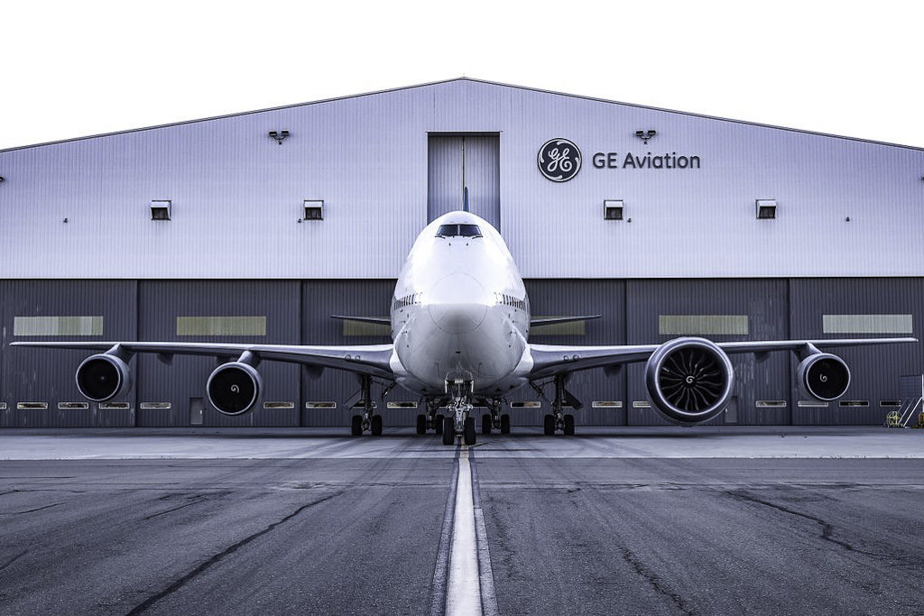 Avião Boeing 747 Motor GE9X