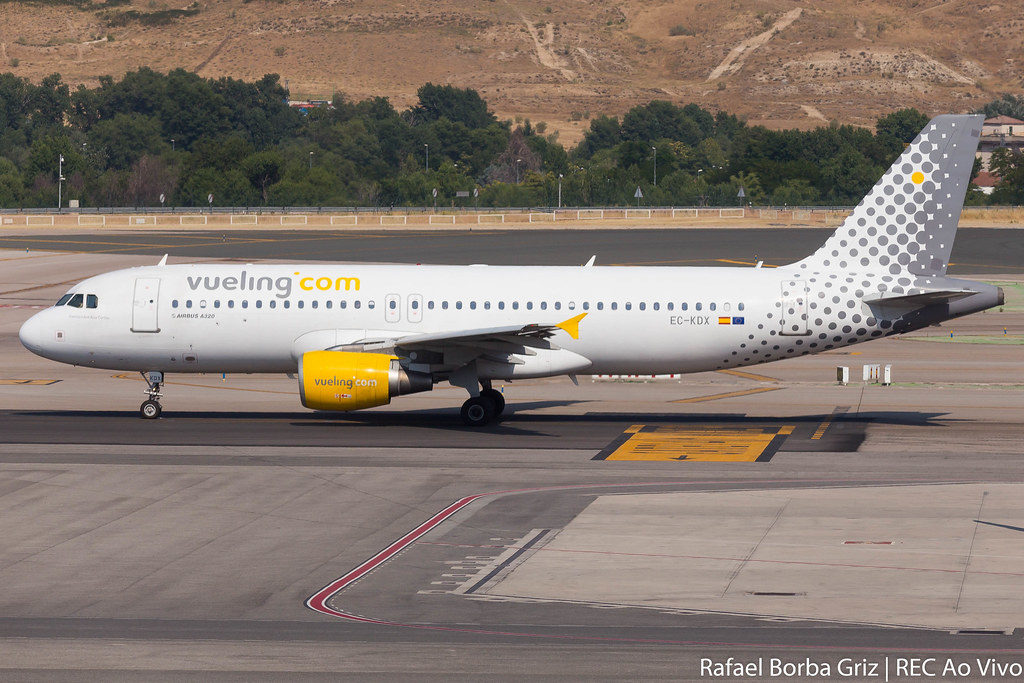 Avião Airbus A320 Vueling