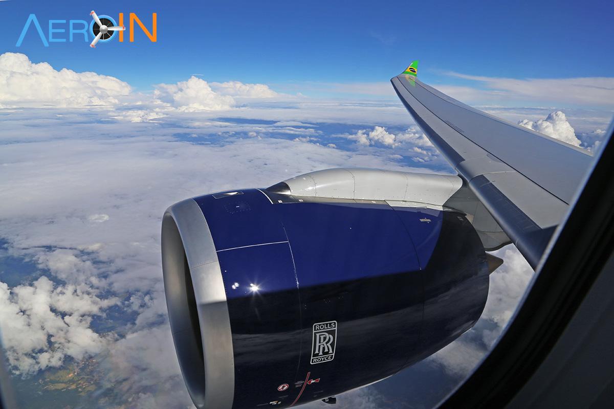 Motor Rolls Royce Trent A330neo Azul