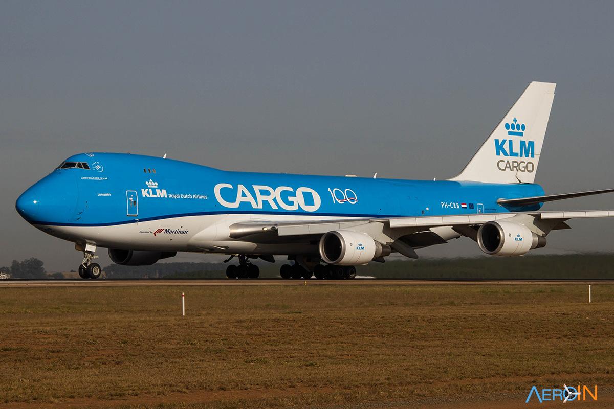 Avião Boeing 747-400F KLM
