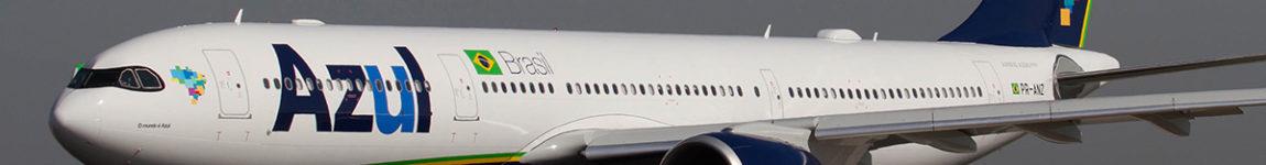 Avião Airbus A330neo Azul