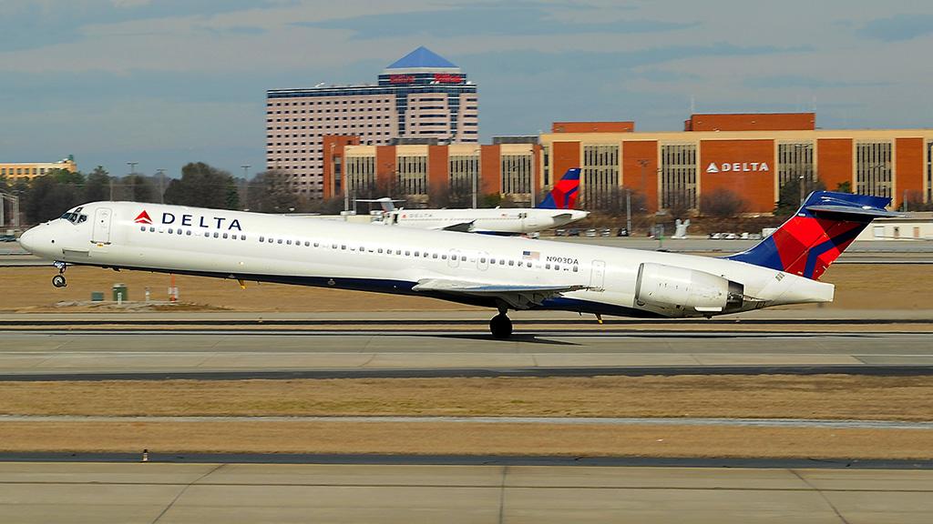 Avião MD-90 da Delta Air Lines