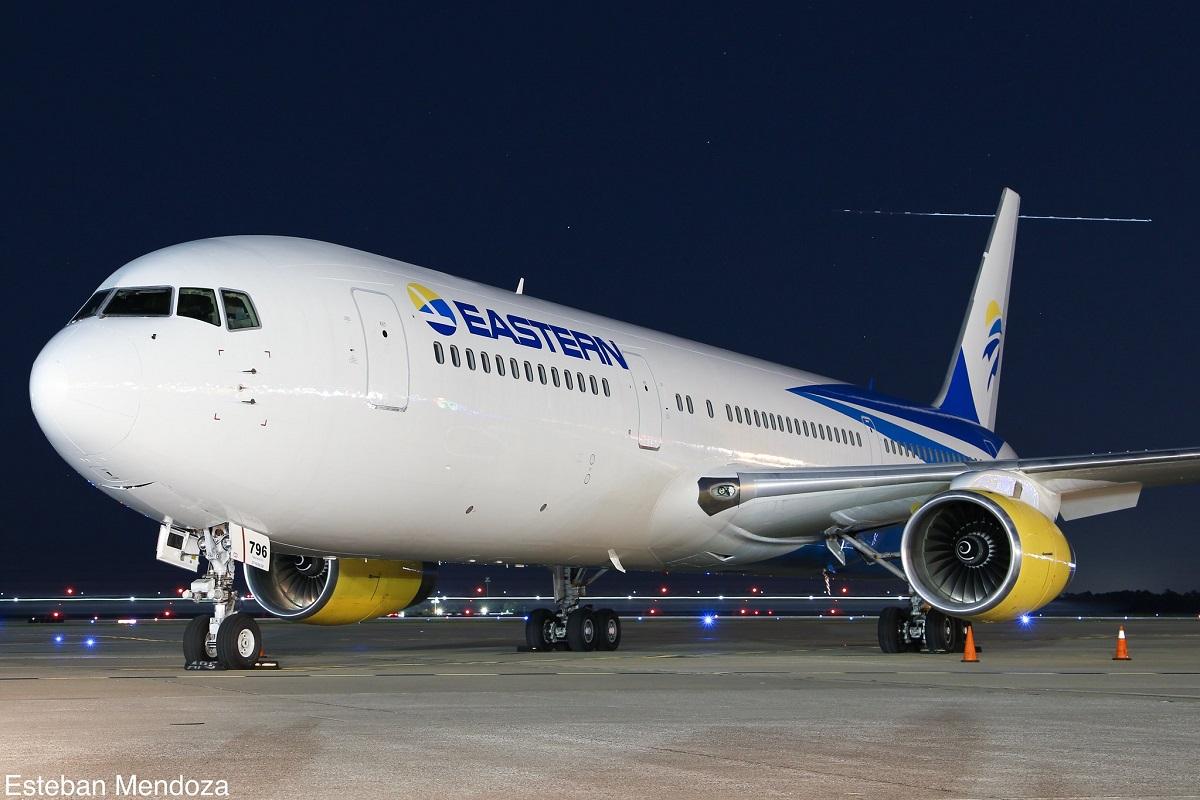 Avião Boeing 767 Eastern Airlines
