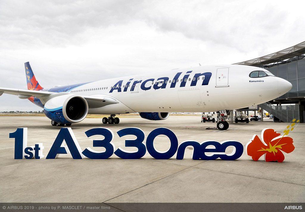 Avião Airbus A330neo Air Calin