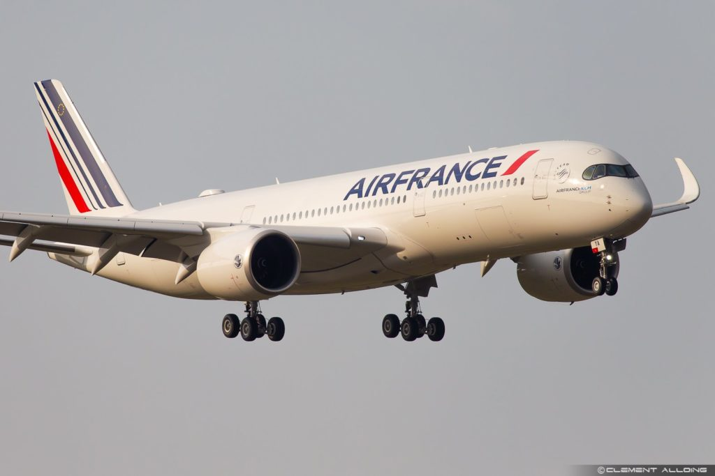 Avião Airbus A350-900 Air France