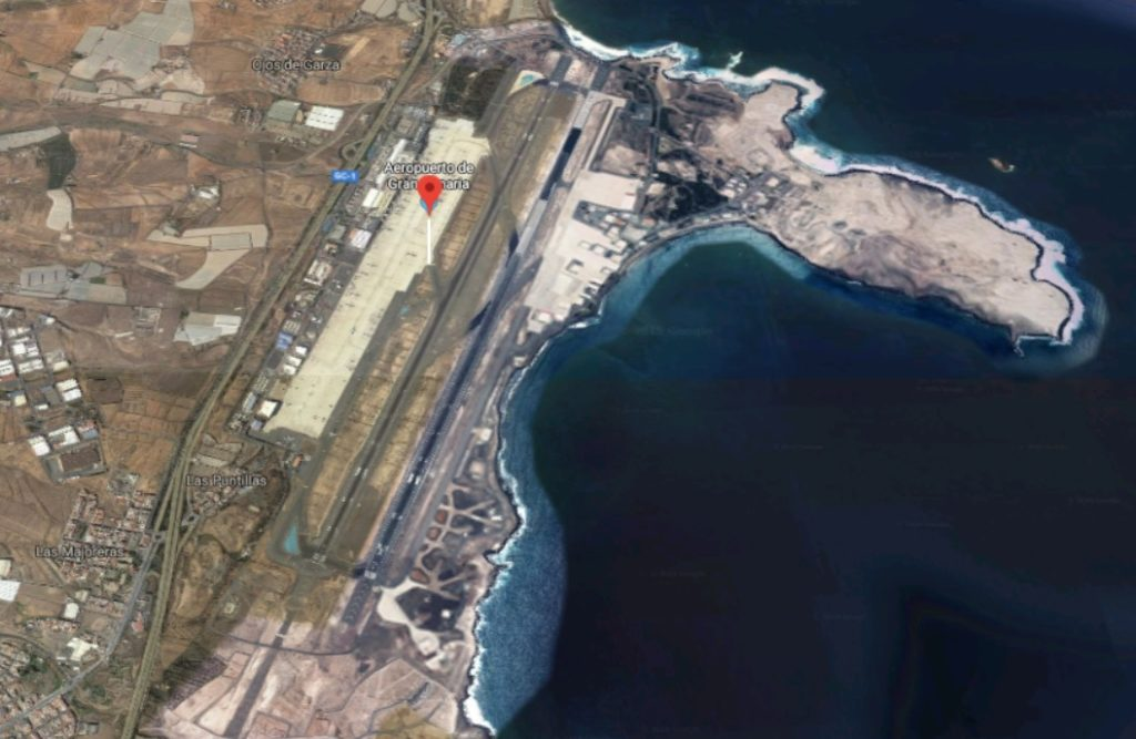 Aeroporto Ilha Gran Canaria Vista Aérea