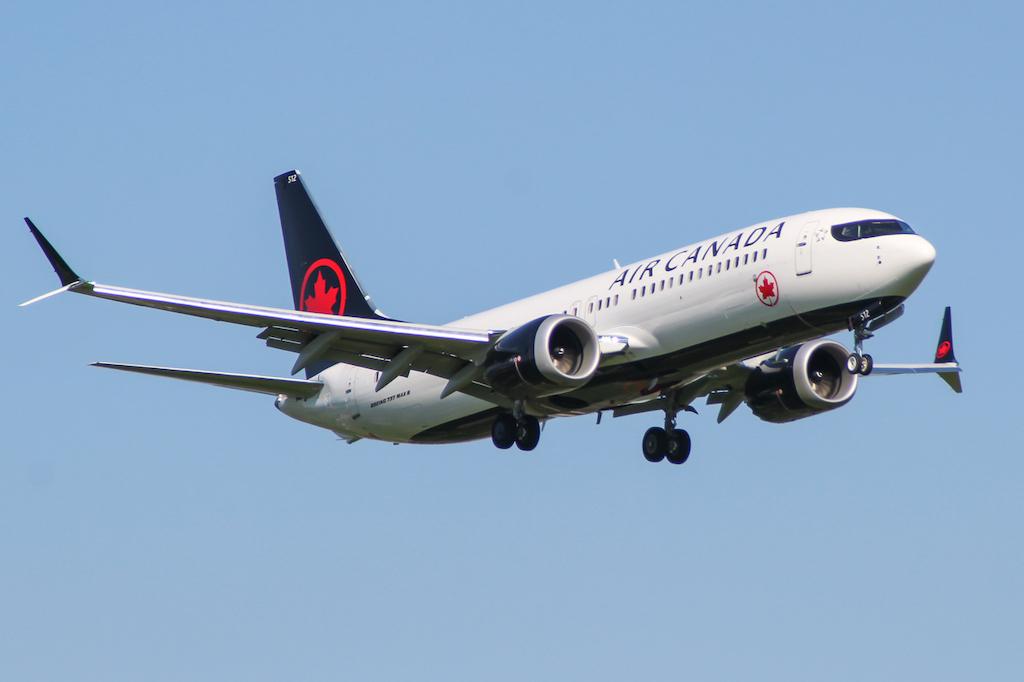 Boeing 737 MAX Air Canada