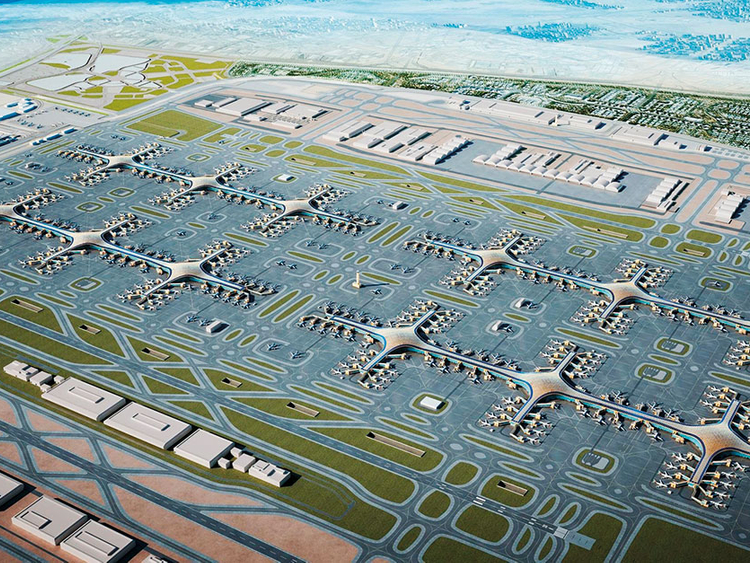 Al Maktoum Dubai DWC Airport