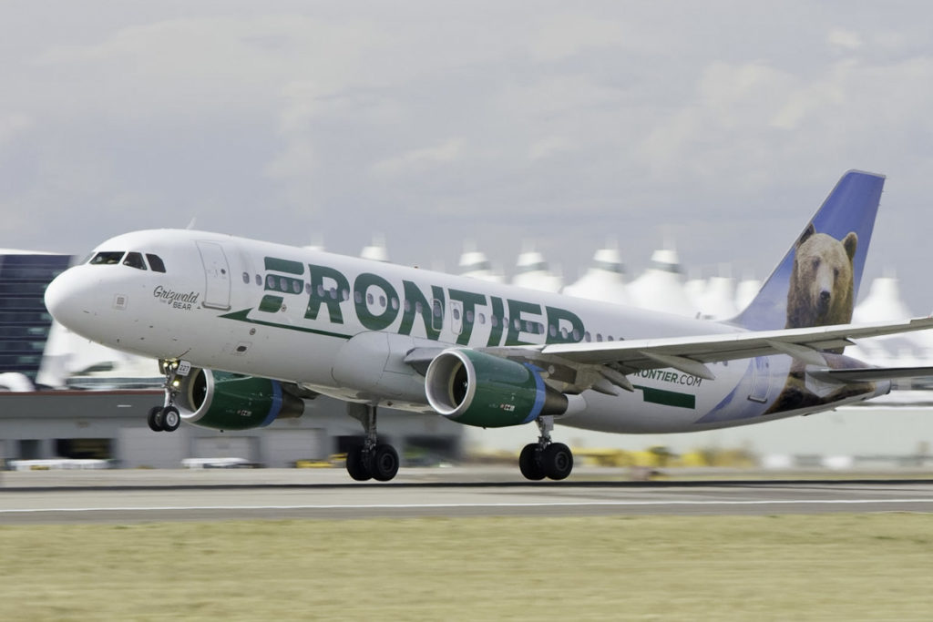 Avião Airbus A320 Frontier